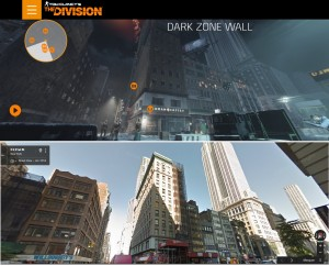 Tom Clancy The Division vs Google - Secteur du Dark Zone Wall