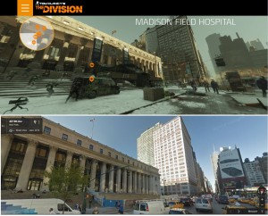 Tom Clancy The Division vs Google - Secteur du Madison Field Hospital